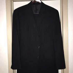 Men's Calvin Klein Suit 44L and 34x32 pants